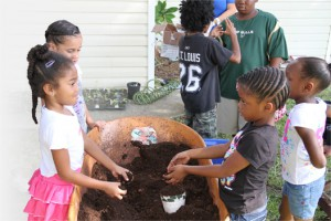 Children Helping